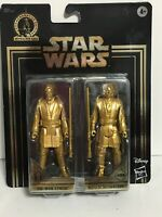 Star Wars Skywalker Saga Commemorative Edition Gold Obi-Wan & Anakin.