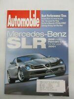 AUTOMOBILE MAGAZINE APRIL 1999 MERCEDES BENZ SLR MASERATI 3200 GT 370 BHP CAR
