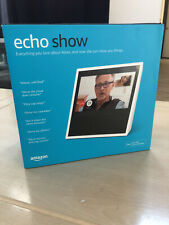 New In The Box----Amazon Echo Show Smart Assistant - White 848719084894