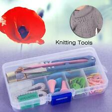 1 Set Home DIY Knitting Tools Crochet Yarn Hook Stitch Weave Accessories New AE
