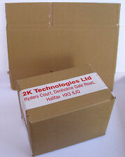 Mailing Boxes 150 x 152mm x 102mm x 102mm Single Wall Brown Card -Free T48 Post2