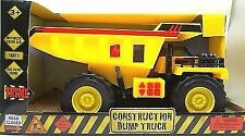 Toy dump truck construction vehicle lights and sounds 15 inch bright kingdom