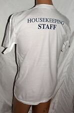 NEW HOUSEKEEPING STAFF T SHIRT LOT OF 2 size M 100% cotton GILBAN