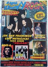 REVISTA HEAVY ROCK - HEAVY ROCK MAGAZINE. Nº171. Noviembre '97. METALLICA