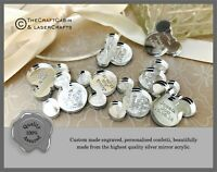 Personalised Engraved Wedding Confetti Decorations Mini Favours Mr Mrs Gift