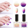 2X BORN PRETTY Color Changing Nail Polish 3Colors Thermal 6ml Manicure Varnish