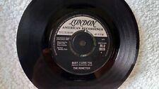 vinyl plays vg+ / vg-   Ronettes baby i love you 1963 london hlu 9826