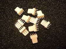 ADAM TECH LHA-04-TS Socket wire-board MALE 4-Pin 2.54mm THT 250V 3A TIN  Qty.10