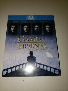 Coffret Game Of Thrones 2 Blu-ray Saison 5 Et 6 Neuf sous Blister
