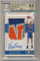 KEVIN KNOX 2018/19 NATIONAL TREASURES RC FOTL AUTO 4 COLOR PATCH /20 BGS 9.5 GEM