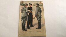 Ansichtkaart Officieren Infanterie , ongelopen , Mobilisatie , WW2