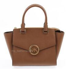 Brown Michael Kors MD Satchel Leather Purse Hudson Luggage Bag  Goodtreasures123 ae8be90682