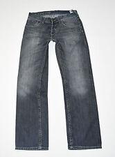 "Blue Denim TOMMY HILFIGER Wilson Straight Leg Faded Men's Jeans Size W34"" L31"""