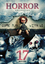 17-Movie Horror Collection: Come Play With Us - 4 DISC  (2016, REGION 1 DVD New)