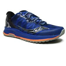 Saucony Mens Koa TR Running Shoes Size 8 M Cushioned Insole Blue Orange NEW
