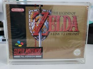 Zelda a link to the past snes sealed MINT PAL nintendo red label authentic