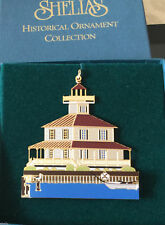 New Canal Light New Orleans La 1996 Shelia's 3D Historical Ornament Or028