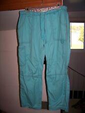 Nice Koi Uniform Pants/Scrubs Medium Teal Lindsey Good Used Condition