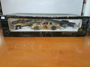 BROOKFIELD 1/24 DALE EARNHARDT #3 GM GOODWRENCH PRO BASS CHEVY SET *BOX ISSUE*