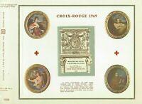 Foglio CEF 1er Giorno Croce Rosso 1969