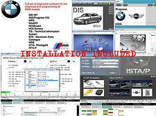 BMW set DIS V57 SSS NCS INPA ETK ISTA-D ISTA-P E, F, G, I, Alpina + installation