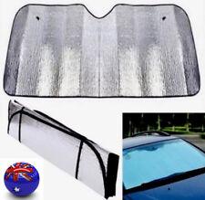 AU!! Car Windscreen Sun Shade Heat Reflective Visor Front UV Shield 140X70cm