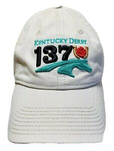 Kentucky Derby 2011 137th Churchill Downs Horse Racing Cap Hat Embroidered Logo