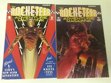 THE ROCKETEER ADVENTURE MAGAZINE #1-2 (COMICO/DAVE STEVENS/0618298) FULL SET 2
