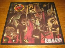 Slayer-Reign in blood LP, Geffen Europe 1986, OIS, 10 Tracks,megarar,Vinyl mint