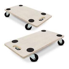 2x Transportroller Möbelroller Transporthilfe Rollbrett Transportbrett Möbelhund