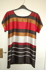 Striped Tunic Top By T&K Boutique Size Small (S) BNWT