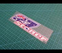 Aussie star Casey Stoner motoGP Reflective Decal Sticker
