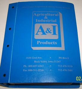 A&I Agricultural & Industrial Products Application Catalogs ALLIS, JD, CNH, etc