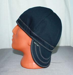 Y-01 Very Dark Blue, Almost Black/Gray Welders, Pipefitters, Welding Cap Hat