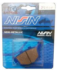 2P-204 NS NISSIN PASTIGLIE FRENO POSTERIORI TRIUMPH STREET TRIPLE 675 DAL 2008