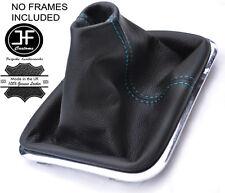 Manual De Costura Azul Cuero Polaina gear se ajusta VW Touareg 2002-2010