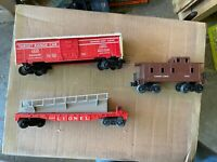 (3) Lionel Freight Cars With Original Boxes