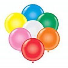 Balloons 17 Inch PARTY-TEX Premium Assortment Latex Pkg/72