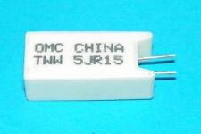 1X 5JR15 .15 ohm 5 watt cement resistor For Vizio 0500-0412-1030 ICP250 4A00 SMT