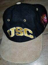 Vintage 90s USC Trojans Starter Snapback Cap Hat College NCAA VTG leather bill