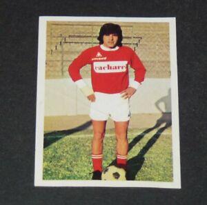 N°141 MENDOZA NIMES OLYMPIQUE CROCOS AGEDUCATIFS FOOTBALL 1973-1974 73-74 PANINI