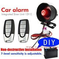 DC 12V Vibration Detector Sensor Auto-guard Anti-theft Alarm for Car Motorcycle