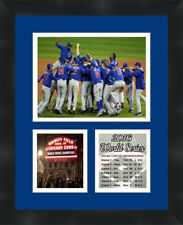 Chicago Cubs 2016 World Series Photo Collage Framed 11X14 Memorabilia