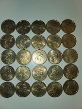 25 Coins. 2000 P SACAGAWEA ONE DOLLAR US LIBERTY GOLD COIN PHILADELPHIA MINT
