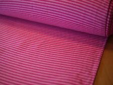 Bündchenstrick, Bündchenstoff, Ringelbündchen, Feinripp Bündchen rosa-pink