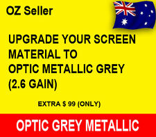Upgrade Screen to 2.6 gain OPTIC METALLIC GREY for 150""