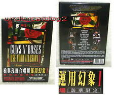 Guns N' Roses Use Your Illusion I 1 Taiwan DVD w/OBI