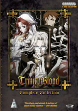 Trinity Blood . The Complete Series Collection . Anime . 6 DVD . NEU