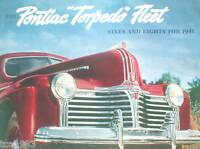 1941 PONTIAC Brochure:TORPEDO,SEDAN,COUPE,STATION WAGON