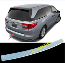 FIT For Honda Odyssey 2018 2019 steel Rear Outer Bumper Protector Cover Trim 1X
